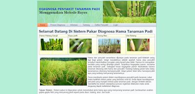aplikasi sistem pakar diagnosa penyakit tanaman padi