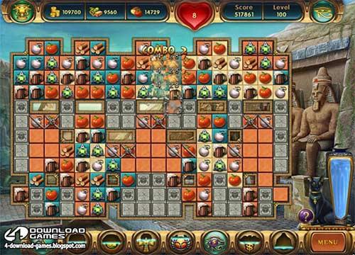 لعبة تجميع الاشكال المتشابهة Cradle of Egypt