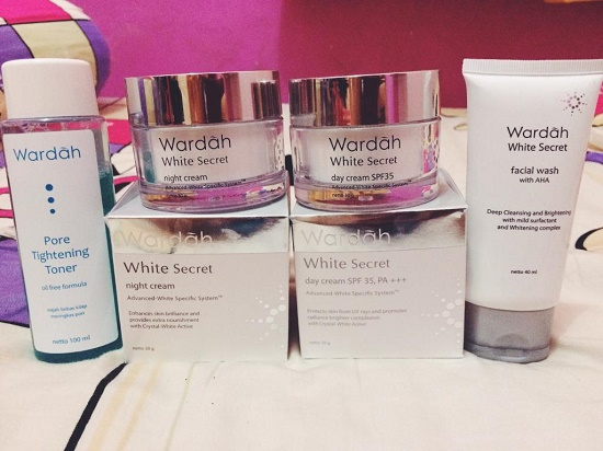 Harga dan Review Dari Wardah White Secret Series
