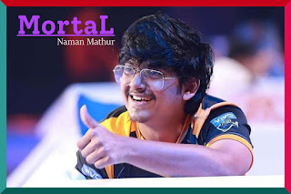 Top PUBG Mobile Player in India Mortal (Naman mathur)