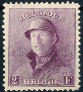 Belgium 1919 Albert I Casques Liberation