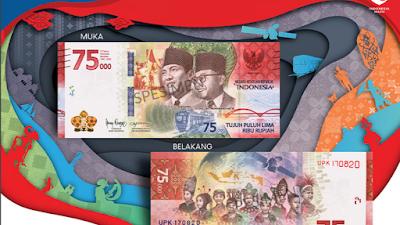 Uang Baru Rp 75.000 Bisa Mulai Dipesan Jam 15.00 WIB, Apa Saja Maknanya?
