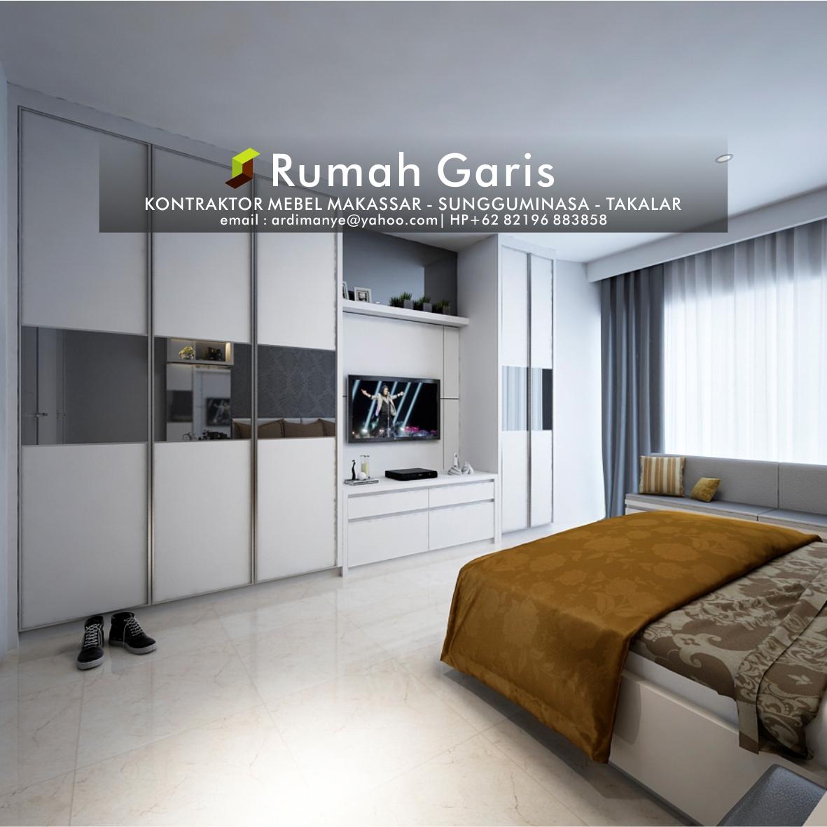 Jasa Desain Rumah Makassar: Rumah Garis