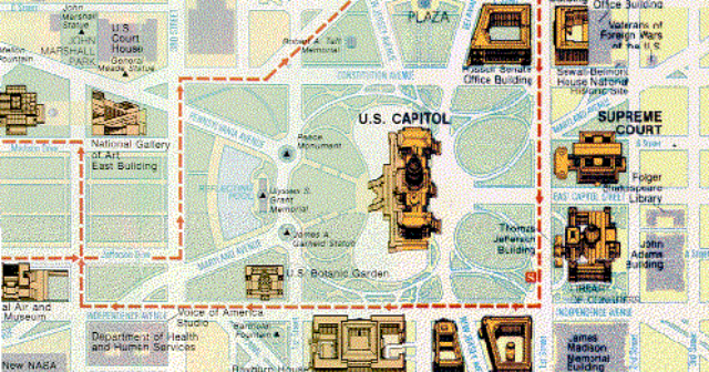 Us Capitol Map Neorrco - Map of the us capitol