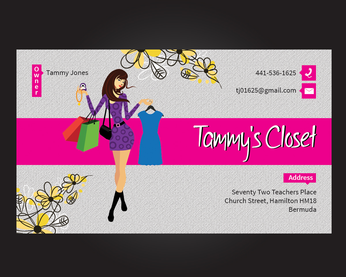 Fashion Business Cards Business Card Tips