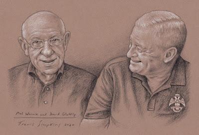 Malcolm Wernik and David Glattly. Scottish Rite, NMJ. Grand Lodge of New Jersey. by Travis Simpkins
