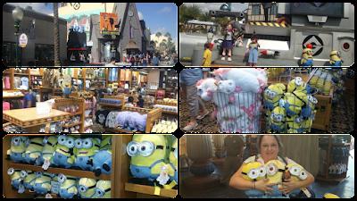 Minnions na Universal Studios