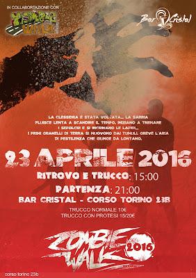 Zombie Walk Novara 2016