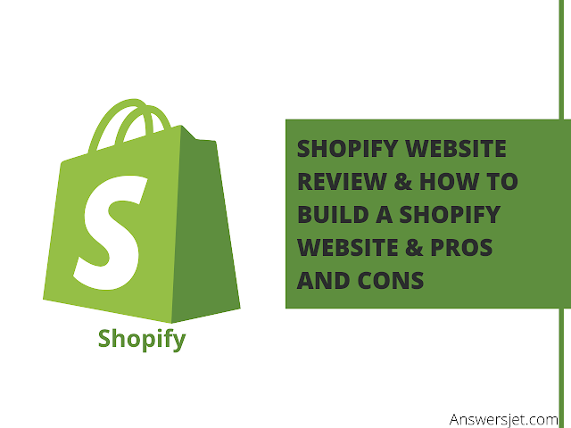 Shopify Website Builder Review & how to build a Shopify website