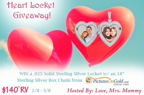 Locket Giveaway