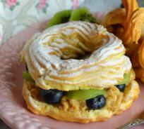resep kue sus sederhana atau choux dan kreasi cara penyajiannya