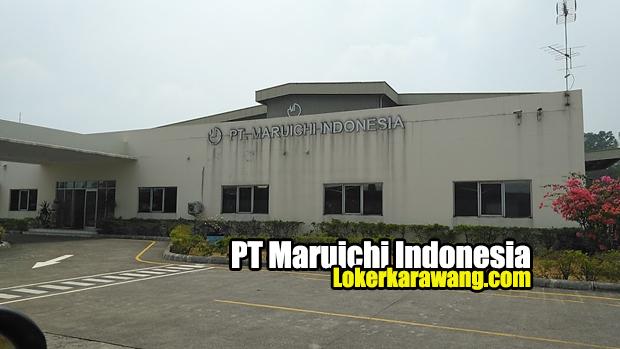 Lowongan Kerja PT. Maruichi Indonesia