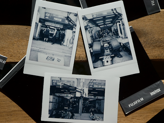 24h Le Mans - Polaroids