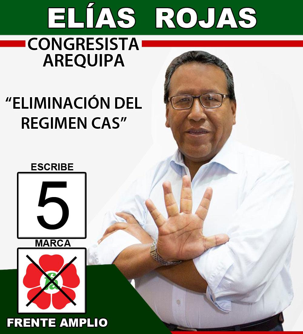 Elias Rojas Congresista