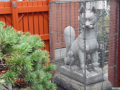 松之木神社狛犬