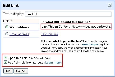Cara Membuat Semua Link Di Blog Terbuka Di Tab Baru