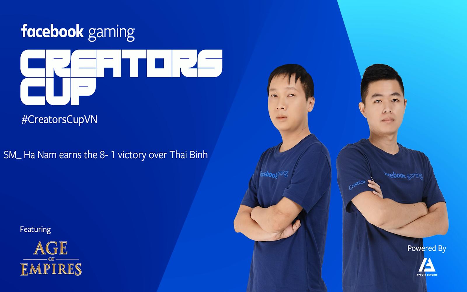 Vòng 6 giải đấu AoE Facebook Gaming Creators Cup 2019: Thái Bình suy yếu, Sài Gòn new thi đấu dưới phong độ