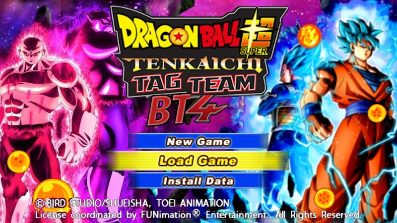 Android PSP Game DBZ TTT BT4 MOD With Permanent Menu Download