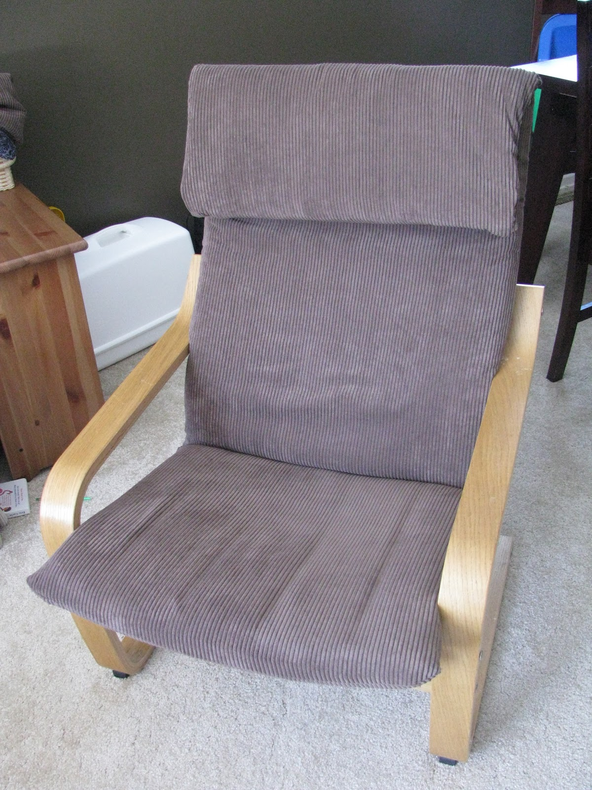 Taylor Made Poang Chair Slip Cover Tutorial