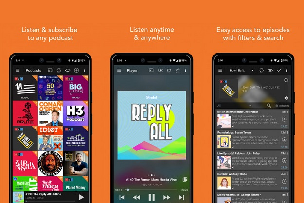 podcast addict android free app