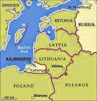 Estonia, Lithuania and Latvia
