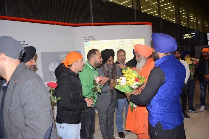 Warm welcome accorded to Sant Balbir Singh Seechewal