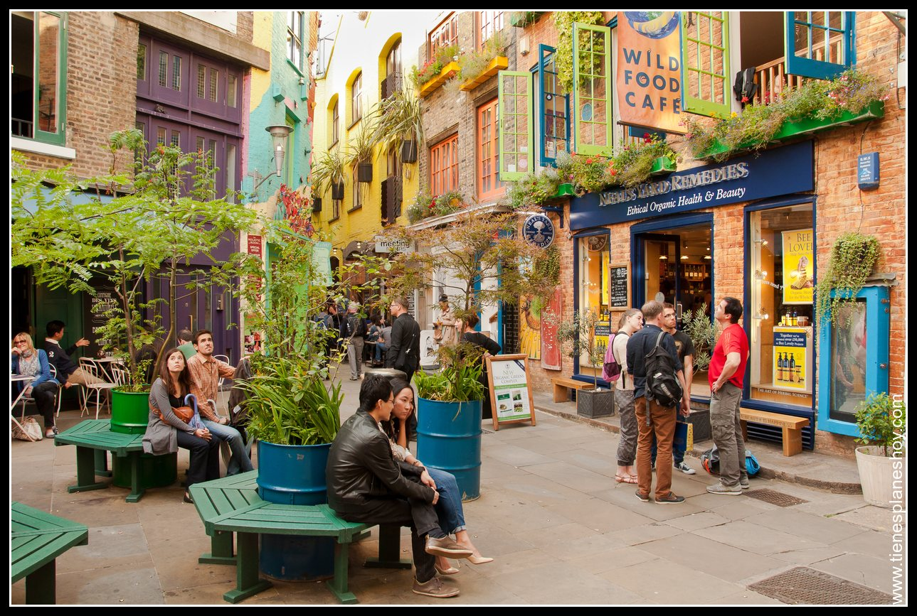 Neal's Yard Covent Garden Londres (London) Inglaterra