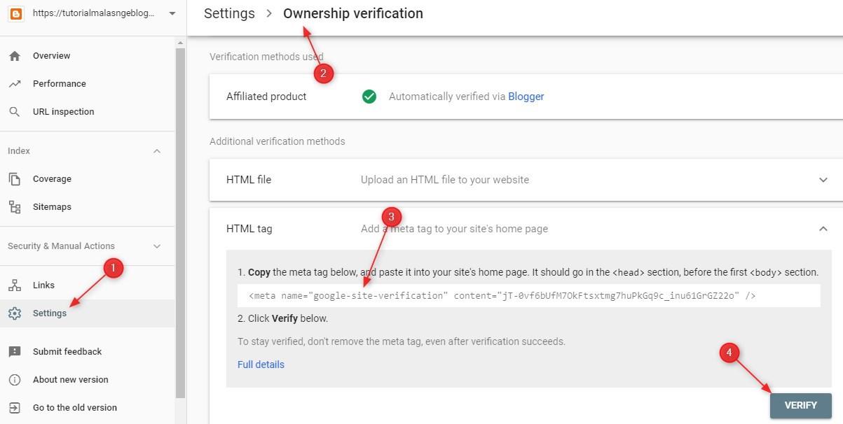 vertifikasi,google,webmaster,tool