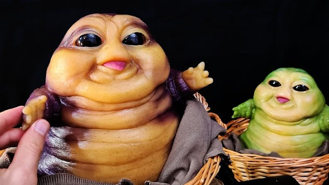 Cansado de Baby Yoda, pues ahora puedes tener tu figura de Baby Jabba