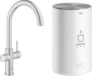 Grohe kokend water kraan met boiler 3 liter