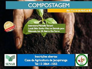 Inscrições abertas para curso gratuito de compostagem