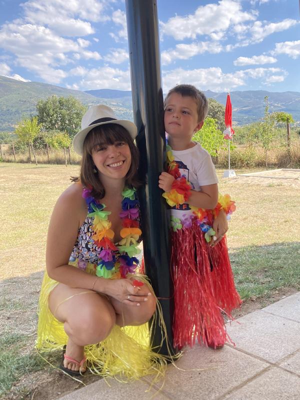 Planes en familia: fiesta hawaiana