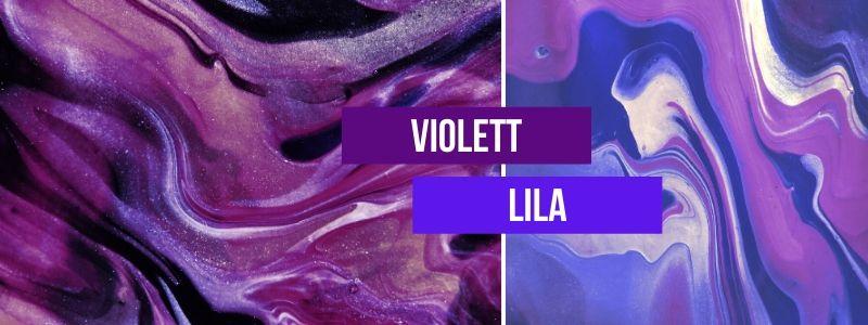 Violett-Lila-kombinieren