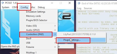 cara menggunakan joystick di emulator ps2