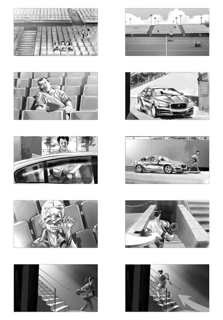 Jaguar - XE #shootingboard 02