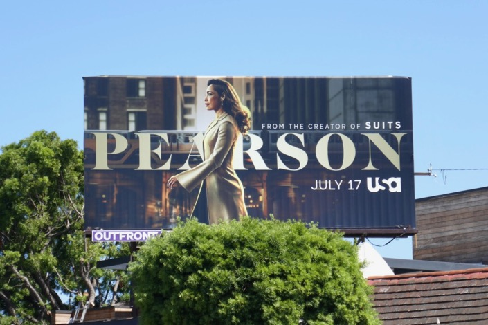 Pearson Suits spin-off series billboard