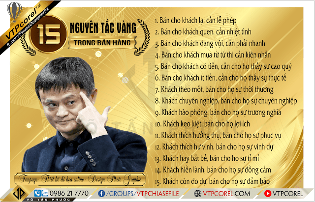 15 Nguyên tắc vàng trong kinh doanh của Jack Ma