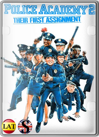 Loca Academia De Policía 2: Su Primera Misión (1985) HD 720P LATINO/INGLES