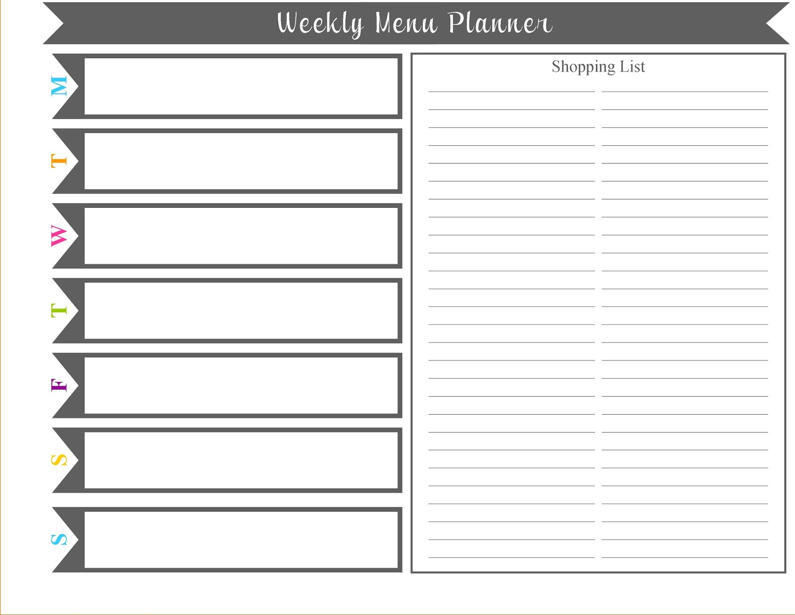 free weekly planner template blank weekly planner printable download weekly schedule planner weekly
