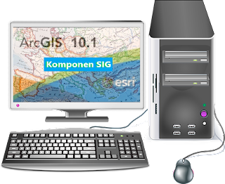 Komponen Sistem Informasi Geografis (SIG)
