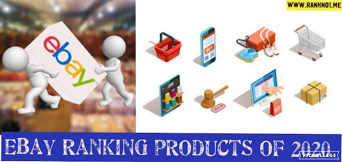 eBay Ranking products of 2020