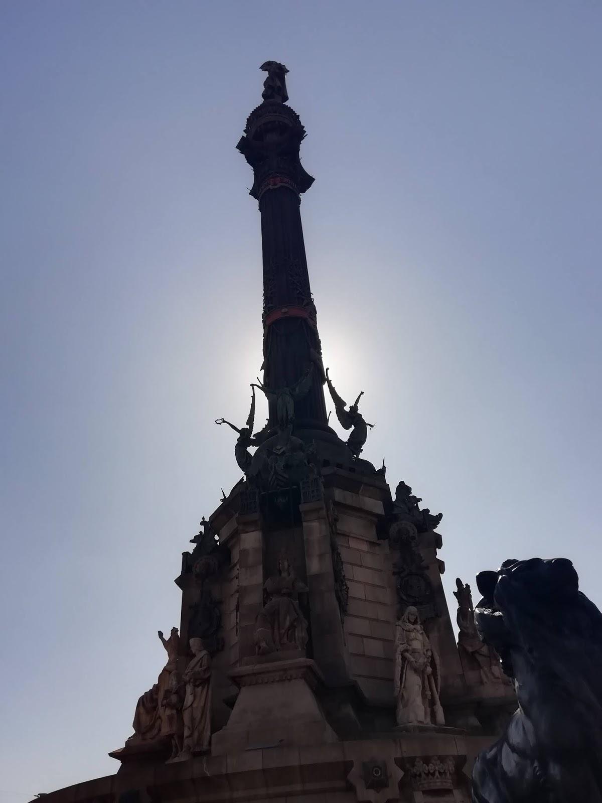pomnik kolumba barcelona