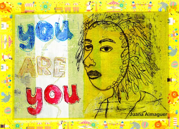 postcard art by juana almaguer