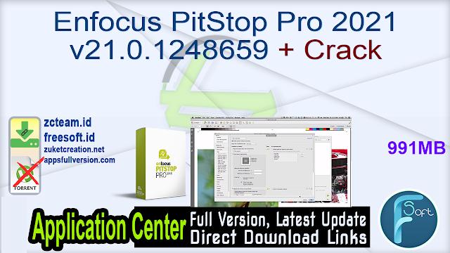 Enfocus PitStop Pro 2021 v21.0.1248659 + Crack_ ZcTeam.id