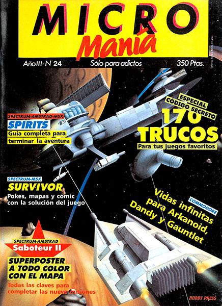 Revista Micromanía Número 24