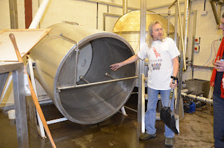 CAMRA Visit to see swivel mash tun