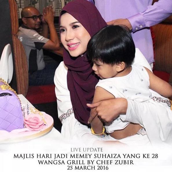 Majlis Sambutan Hari Lahir Isteri Norman Hakim, Memey Suhaiza