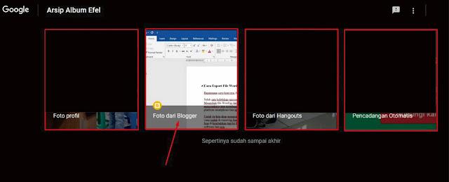 Cara Melihat Gambar yang Sudah di Upload di Blogger