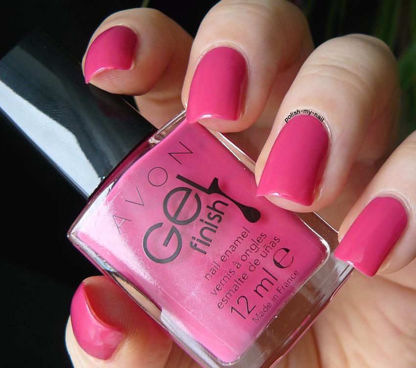Polish My Nail Avon Gel Finish Parfait Pink
