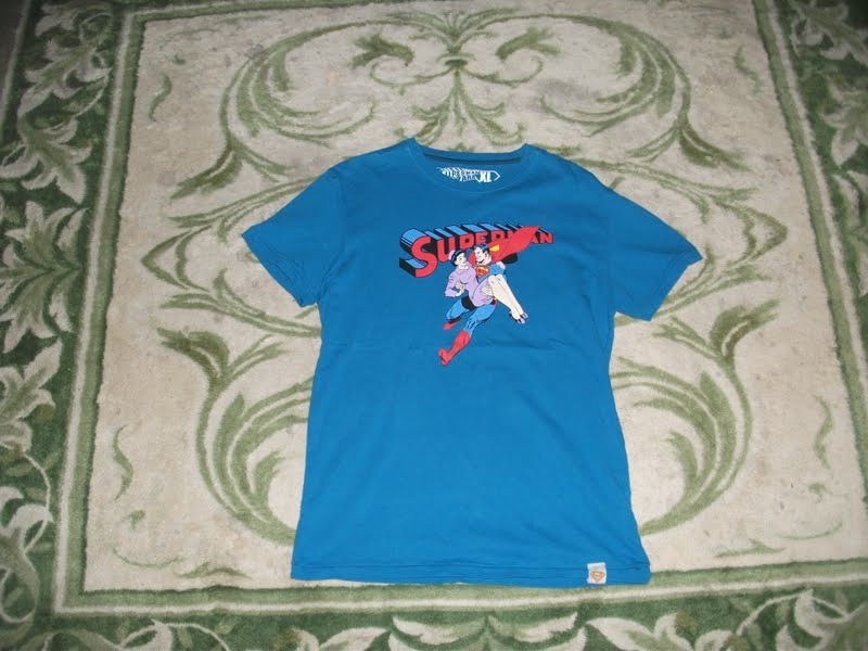 1dd167f4 (KNBZ-222) Tee-Shirt SUPERMAN BY ZARA (SUPERMAN X DC COMIC X ZARA (SOLD)
